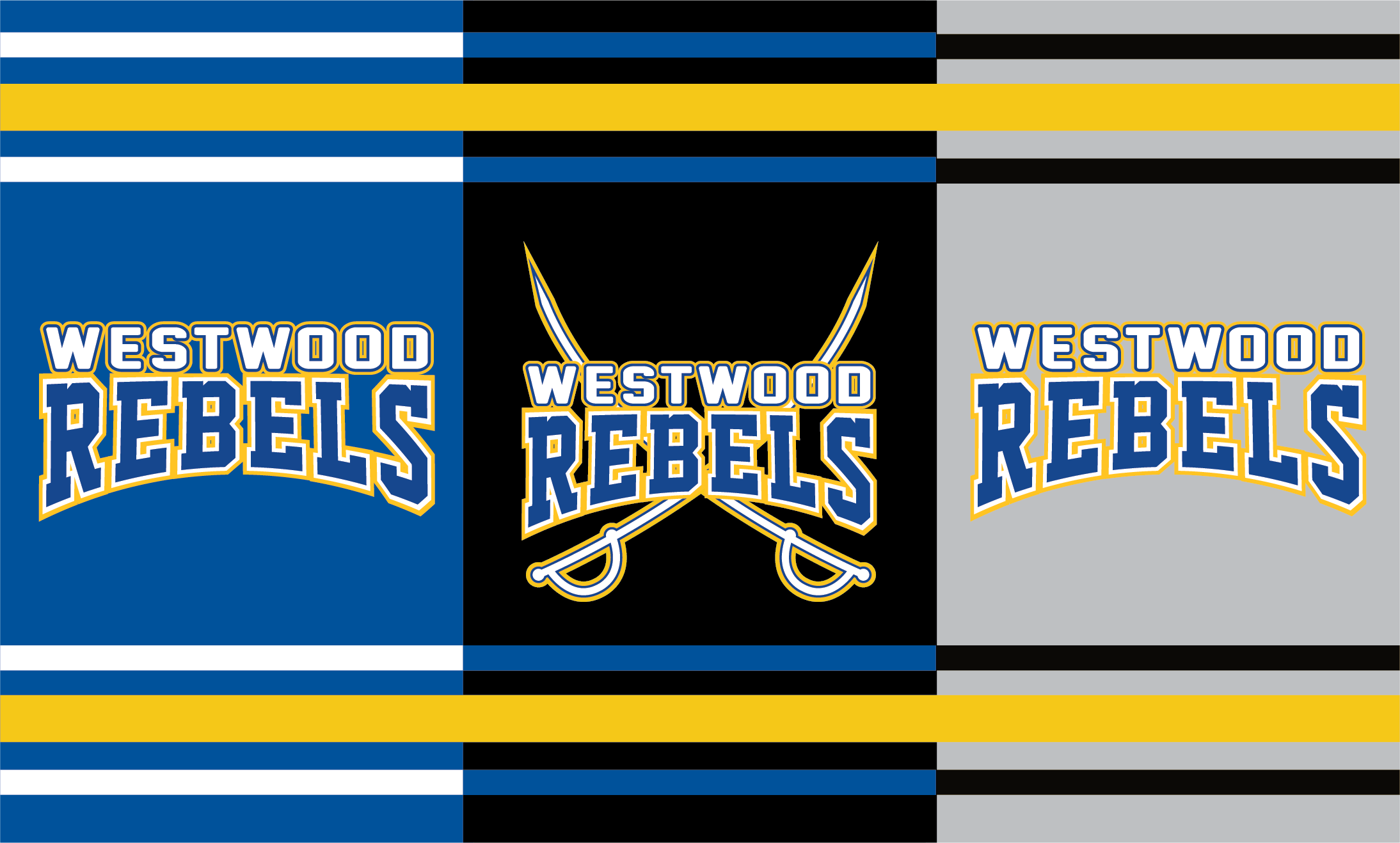 Westwood Rebels Masks