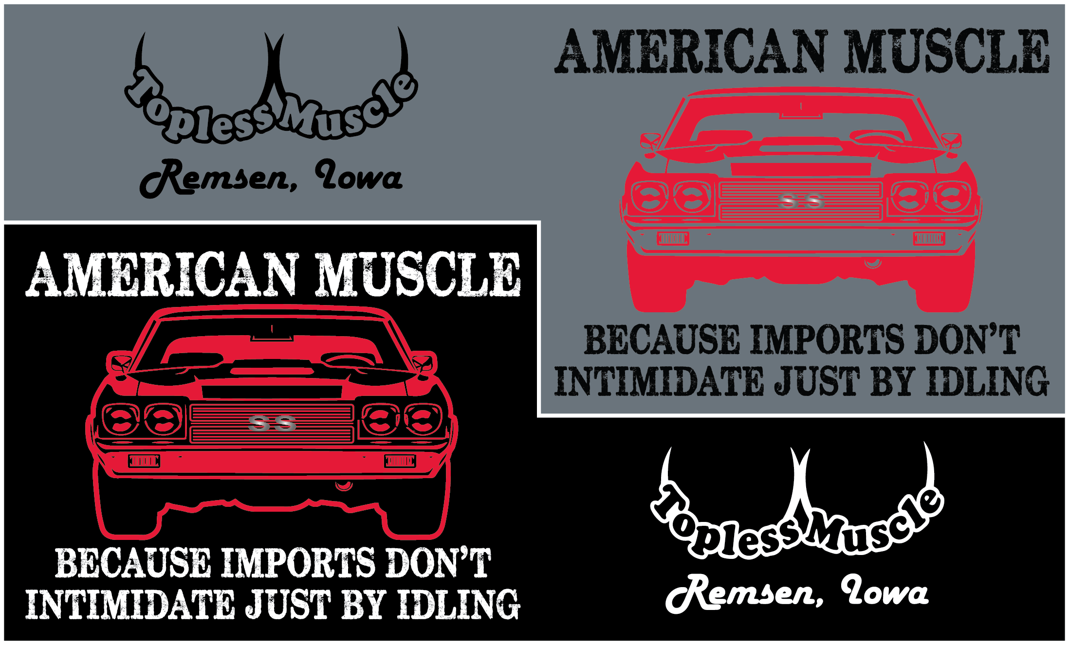 Topless Muscle Car Club