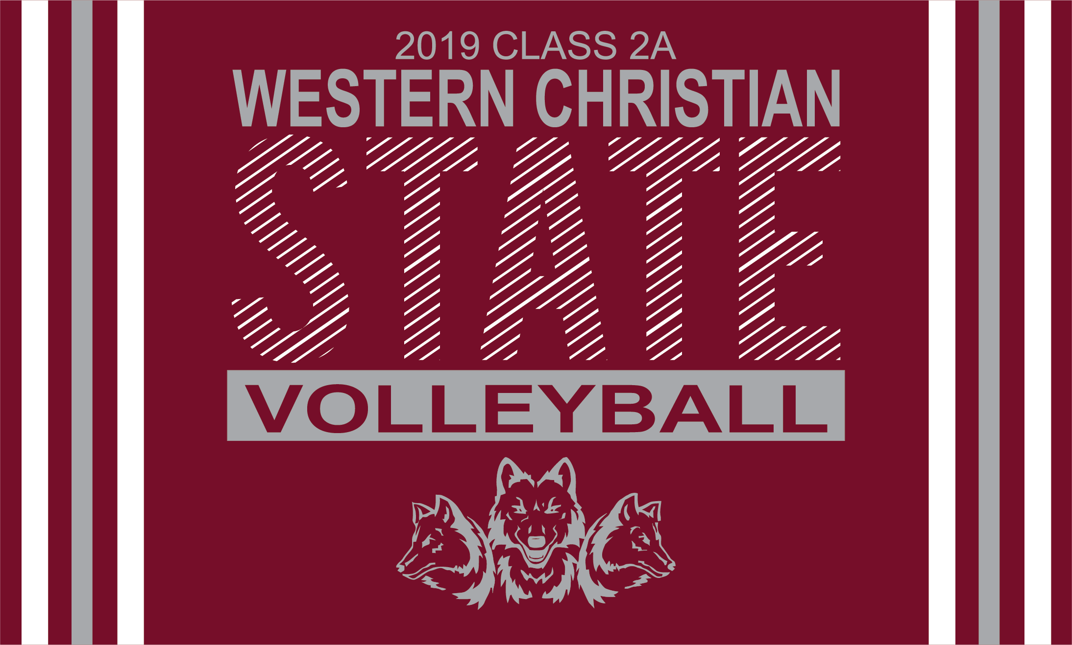 Western Christian State Volleyball