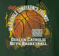 Gehlen Boys Basketball Conference Champions