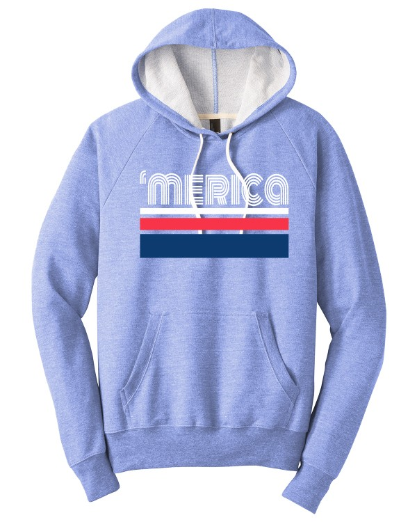 'merica  Perfect Tri French Terry Hoodie
