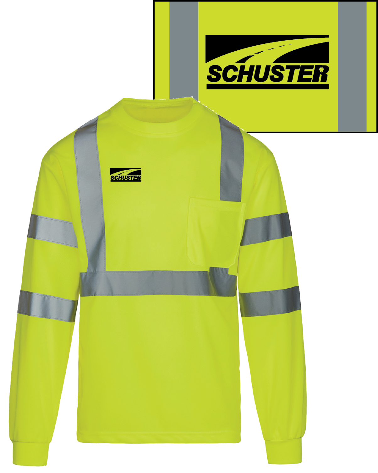 Schuster MAX Safety Long Sleeve Shirt
