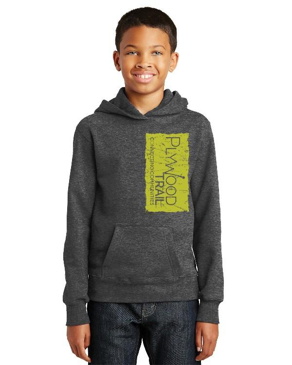PlyWood Trail Fan Favorite Fleece Youth Hooded Sweatshirt