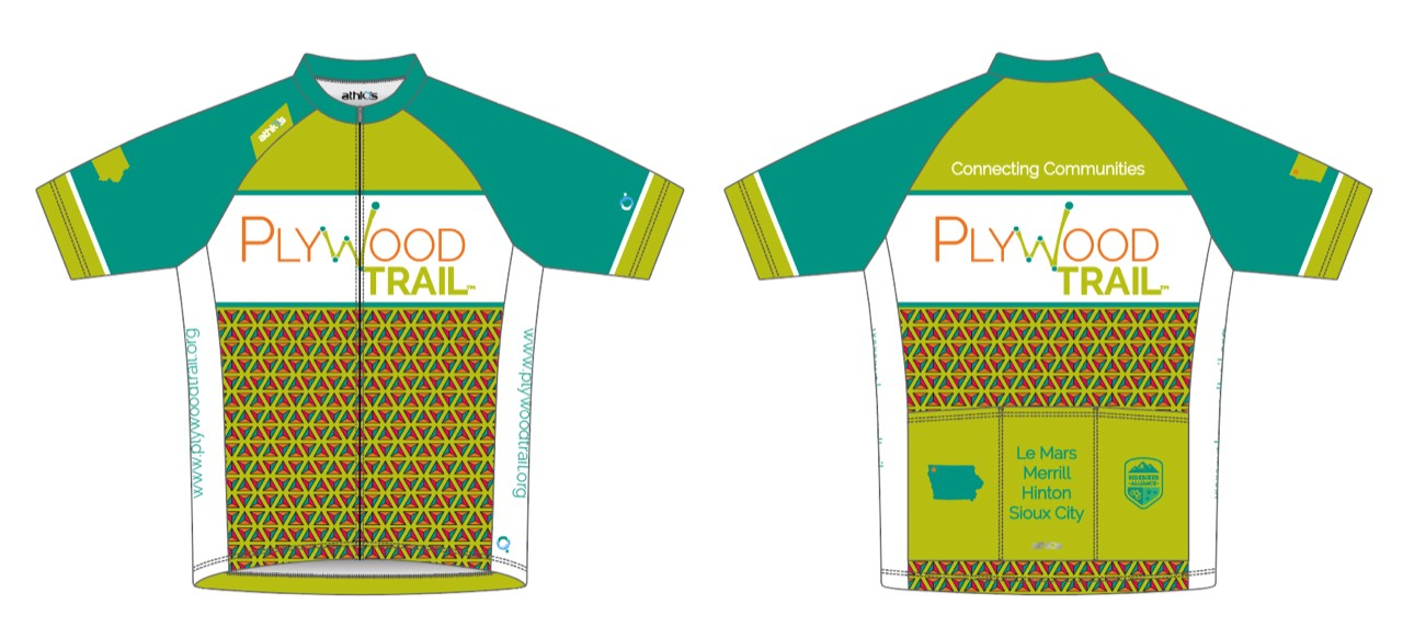 PlyWood Trail Athlos Squad-One Cycling Youth Jersey