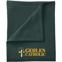 Gehlen Catholic Core Fleece Sweatshirt Blanket