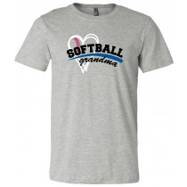 Softball Mom Grandma Unisex Short Sleeve Tee