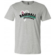 Baseball Mom Grandma Unisex Short Sleeve Tee