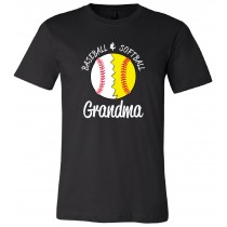 Baseball Softball Unisex Short Sleeve Tee