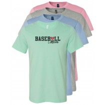 Baseball Mom Unisex Short Sleeve Tee