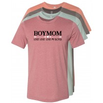 Boy Mom Unisex Short Sleeve Tee