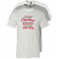 Christmas Wine Unisex Short Sleeve Tee