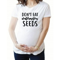 Don't Eat Watermelon Seeds Unisex Short Sleeve Tee