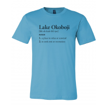 Okoboji Definition Unisex Short Sleeve Tee
