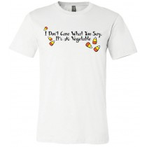 I Don't Care What You Say It's A Vegetable Unisex Short Sleeve Tee