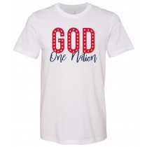 God One Nation Unisex Short Sleeve Tee