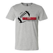 LeMars Bulldogs Football Unisex Short Sleeve Tee