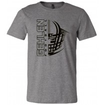 Gehlen Football Helmet Unisex Short Sleeve Tee