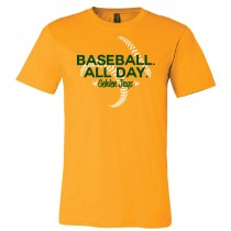 Jays Baseball. All Day. Unisex Short Sleeve Tee in youth & adult