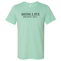 Mom Life Unisex Short Sleeve Tee
