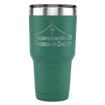 Presbyterian United Church of Christ Etched Tumbler
