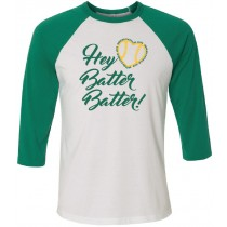 Gehlen Hey Batter Batter 3/4 Tee in several colors