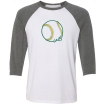 Gehlen Jays Baseball 3/4 Tee in several colors