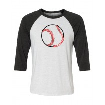 Bulldogs Baseball 3/4 Sleeve in several colors