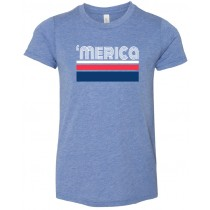 'merica Youth Short Sleeve Tee