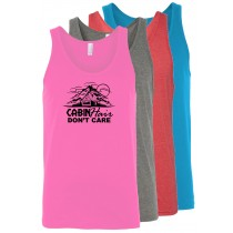 Cabin Hair Don't Care Unisex Tank