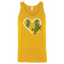 Gehlen Baseball Heart Unisex Tank in youth & adult