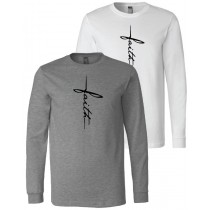 Faith Long Sleeve Jersey Tee