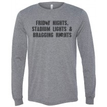 Friday Nights Stadium Lights Long Sleeve Jersey Tee