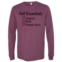 Fall Essentials Long Sleeve Jersey Tee