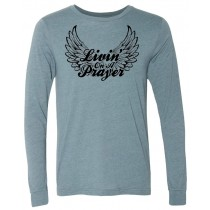 Livin' On A Prayer Long Sleeve Jersey Tee