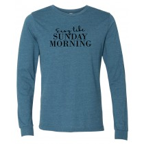 Sunday Morning Long Sleeve Jersey Tee