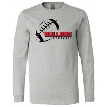 LeMars Bulldogs Football Long Sleeve Jersey Tee