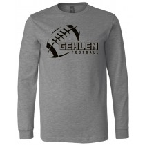 Gehlen Football Long Sleeve Jersey Tee