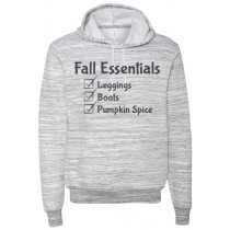 Fall Essentials Ringspun Hooded Sweatshirt in Adult