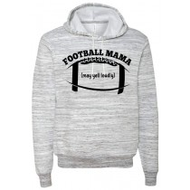 Football Mama Ringspun Hooded Sweatshirt in Adult