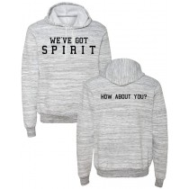 We've Got Spirit Ringspun Hooded Sweatshirt in Adult