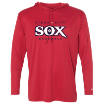 SC SOX Badger B-Core Long Sleeve Hooded T-shirt Youth, Adult & Womens