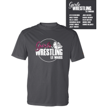 LCHS Girls Wrestling Badger Short Sleeve Youth and Adult