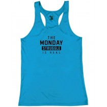 The Monday Struggle Is Real Women's Racerback Tank Top
