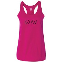 God Is Greater Than The Highs & Lows Women's Racerback Tank Top