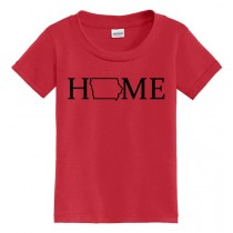 IOWA HOME TODDLER & Youth Short Sleeve Tee in 4 Colors