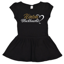 Hinton Infant & Toddler Baby Rib Dress