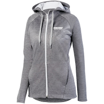 Big Sioux Auto Augusta Ladies Zoe Tonal Heather Full Zip Hoodie