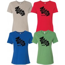 Home Is Where the Field Is FB Women's Relaxed Short Sleeve