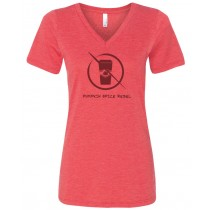 Pumpkin Spice Rebel Women's Relaxed V-Neck Tee