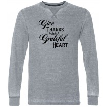 Give Thanks Thermal Long Sleeve Tee